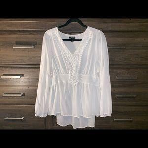 a.n.a white blouse